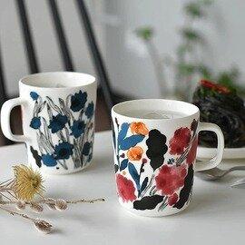 marimekko HYHMA ラテマグ/マグカップ