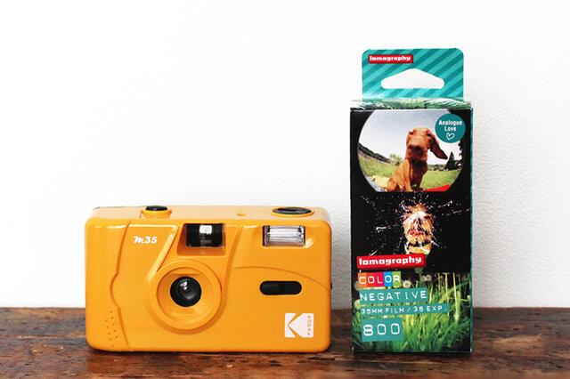 [カメラ+フィルム3本セット] セットのフィルムは「Lomo Film 800(36枚撮)×3本」