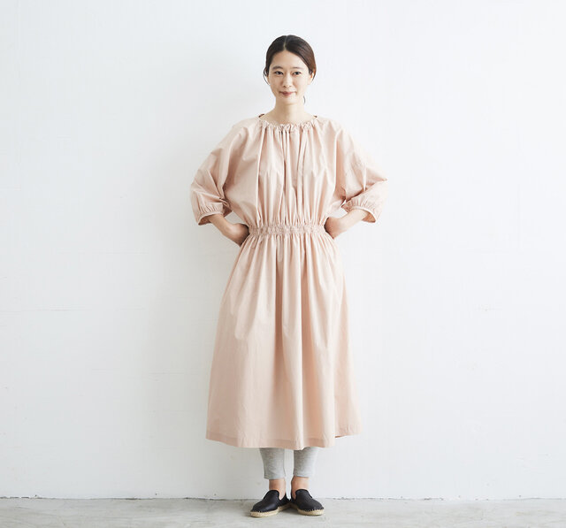 model:168cm color:ライトピンク スパッツ:ストロースパッツ