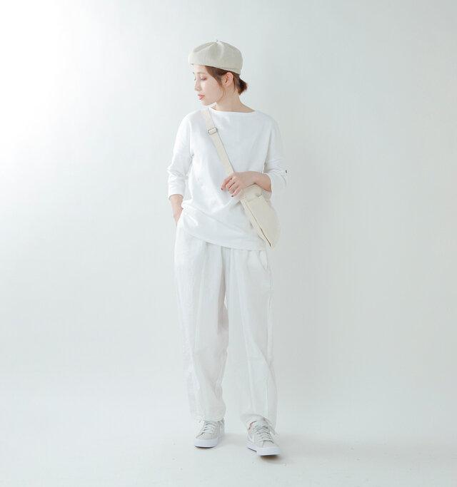 model yama:167cm / 49kg color : neige / size : T3
