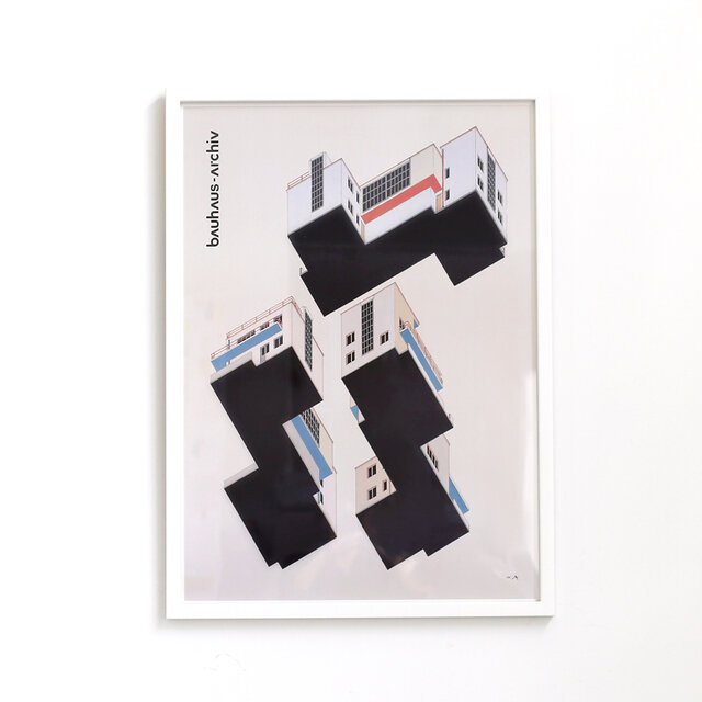 Colour design of the Bauhaus mister house