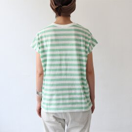 maillot|Light Border Sleeveless Tee ライトボーダー・スリーブレスTee