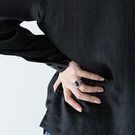 ReFaire|ダークアイズ オニキス リング Dark Eyes Onyx Ring メンズライク パワーストーン 指輪 黒瑪瑙 アクセサリー RC-RG011 ルフェール