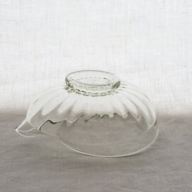 ガラス工房 橙|くるみガラス  片口