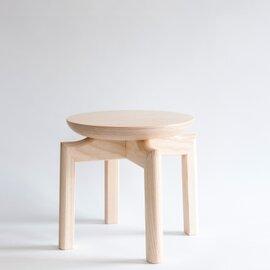 匠工芸|SUU別注 木のマッシュルームスツール