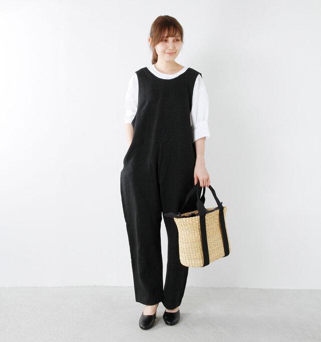 model yama:167cm / 49kg color : black / size : 38  オーバサイズでもルーズ過ぎず、きれいめに着こなせます♪