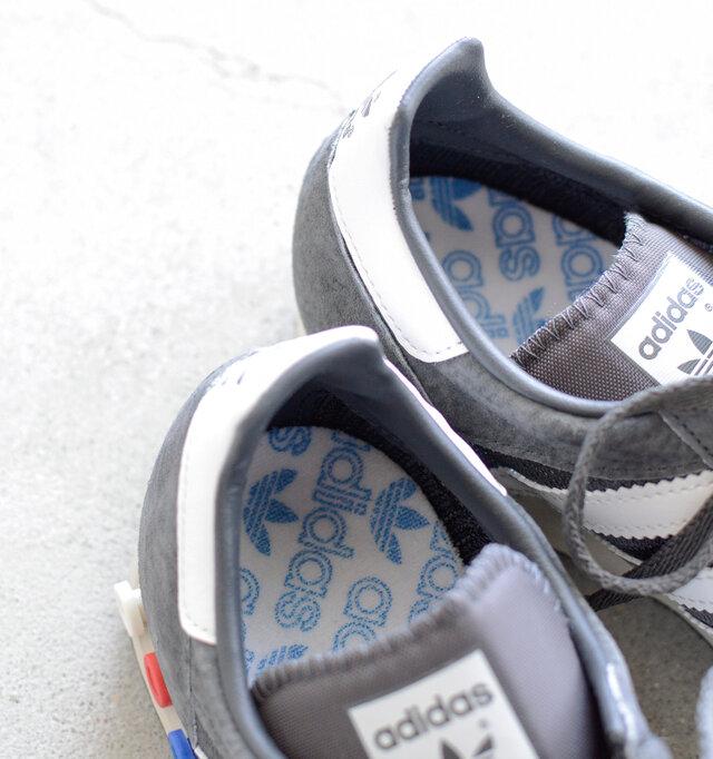 高反発インソールで足のバネをしっかりとサポート。地面からの衝撃を吸収します。