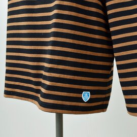 ORCIVAL|コットン100%長袖バスクビッグシャツ b211clw-sn
