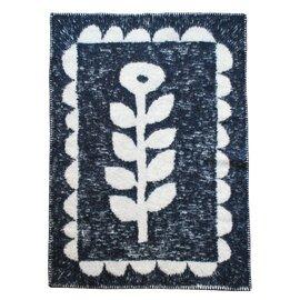 KLIPPAN × minä perhonen|エコラムウールブランケット[WIND & FLOWER]