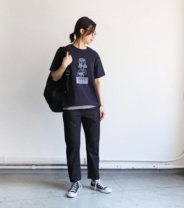 ブラック / S 着用、モデル身長:165cm