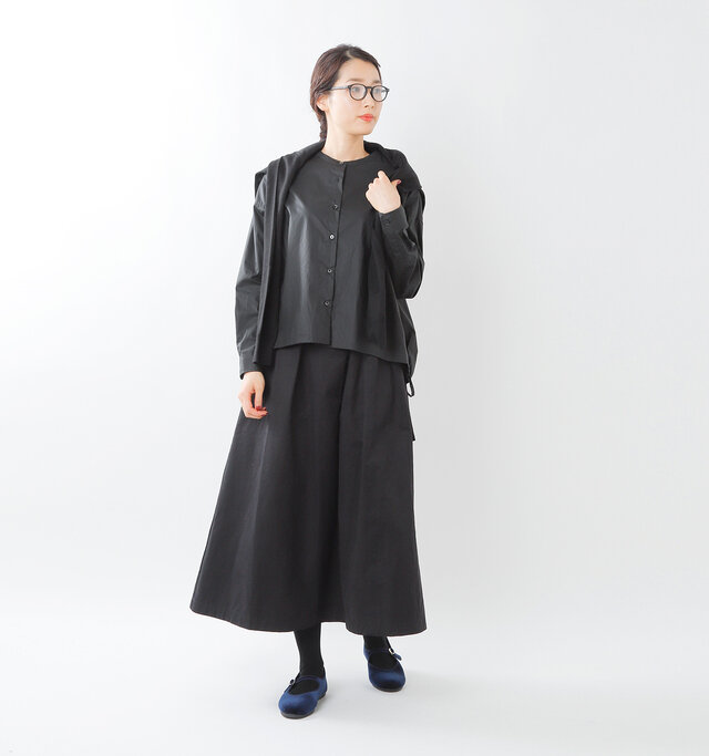 model mizuki 168cm / 50kg  color:navy/ size:38