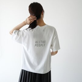 FUNG クルーネック プリント オーバーサイズ Tシャツ VACATION ALL WAYS IMAGINE LOIHI ファング