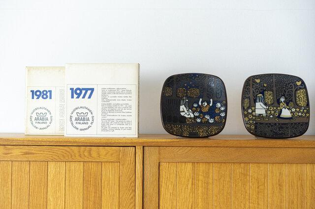 左から1981年、1977年