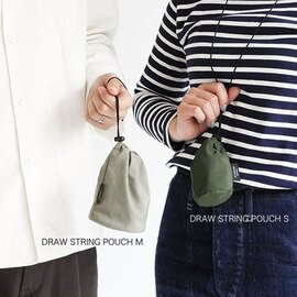STANDARD SUPPLY|STANDARD SUPPLY|SIMPLICITY DRAW STRING POUCH M