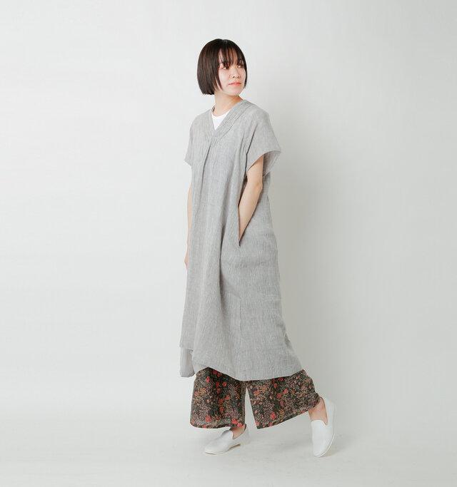 model saku:163cm / 43kg  color : charcoal / size :2