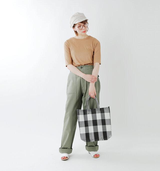 model mei:165cm / 50kg color : black × white / size : M