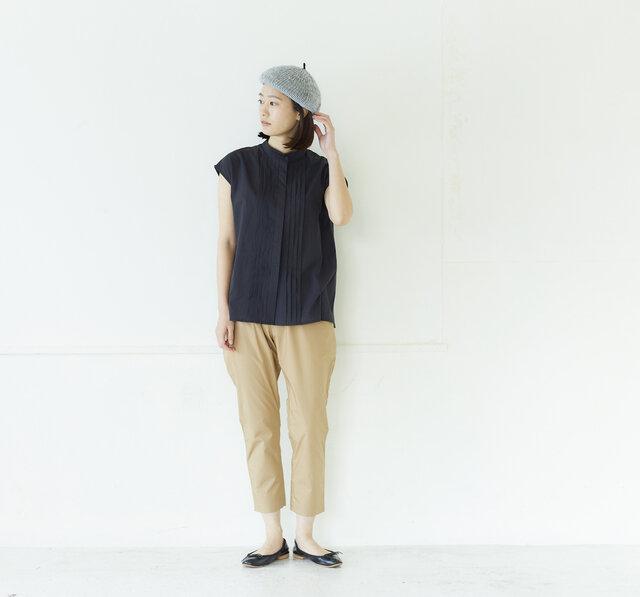 model:168cm color:ライトグレー