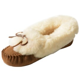 EMU|Amity Cuff Fur アミティ シープスキンモカシン ファー シューズ・W11696 エミュー