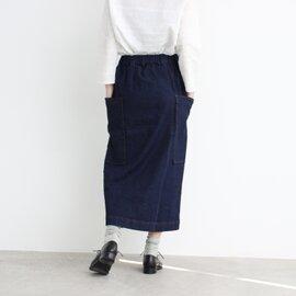 yuni|△≪WEB限定≫ ムラ糸デニム タイトスカート 1709SK012181