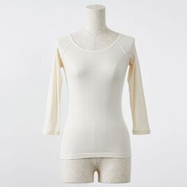 PRISTINE|セーターイン 7分袖