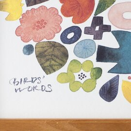 BIRDS' WORDS│POSTER 30 [WREATH]