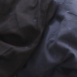 maison de soil|ドット刺繍・ギャザーフレンチスリーブワンピース