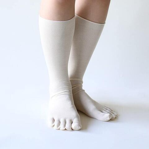 くらしきぬ|お手軽重ね履き 冷えとり靴下2足セット