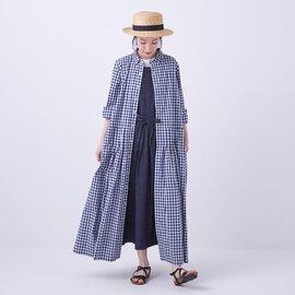 GRANDMA MAMA DAUGHTER|ピンタックシャツワンピース