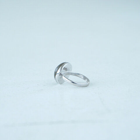 ReFaire|ラウンド ラブラドルライト リング Round Labradorite Ring パワーストーン 曹灰長石 リング アクセサリー RC-RG006 ルフェール