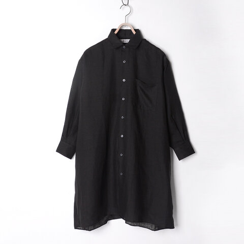 INDIVIDUALIZED SHIRTS|SHIRTS シャツワイドシルエットリネンシャツワンピース・1S1911247・1S1911248・1S1911250 インディビジュアライズド