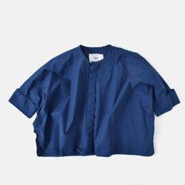 universal tissu|コットンタイプライターダブルカフモモンガシャツ ut190sh032-fn