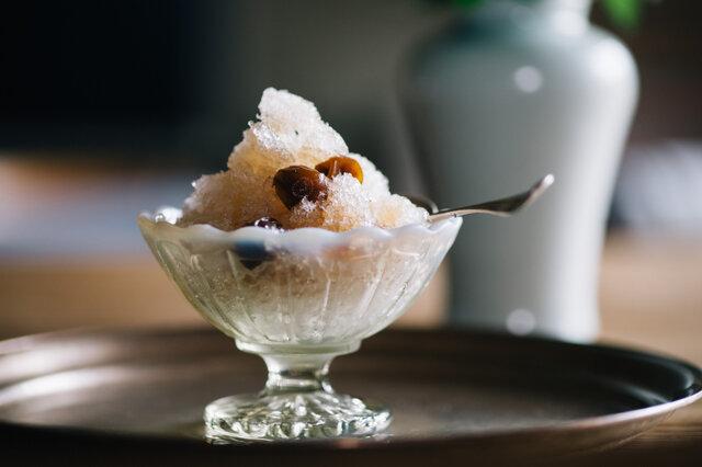 廣田硝子|雪の花 古代色 丸小鉢・デザートボウル・フラッペ