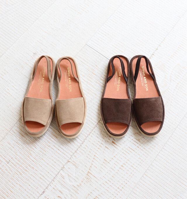 カラーは、ベージュ、ブラウンの2種類。 エスニック感の漂うデザインが魅力的です。