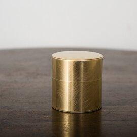 SyuRo|丸缶 真鍮(小)
