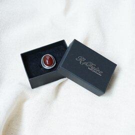 ReFaire|ラージ アゲート リング Large Agate Ring メンズライク パワーストーン 指輪 めのう 瑪瑙 アクセサリー RC-RG013 ルフェール