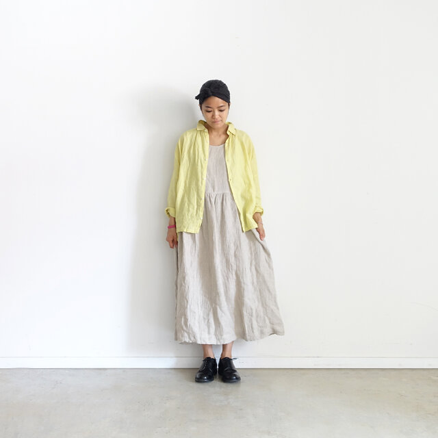 Model 158cm、レモン着用