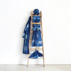 ichi Antiquités|Handdye INDIGO ITAJIME Dress