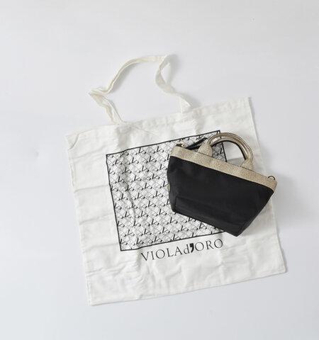 """VIOLAd'ORO 2wayナイロントートバッグ""""GINO"""" v-2036-yh"""