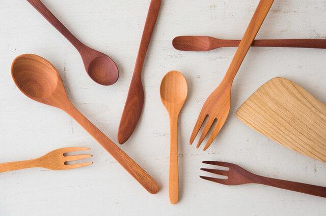 サオの木 マドラー / バターナイフ