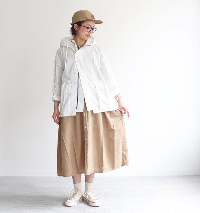 ホワイト/ 0 着用、モデル身長:167cm