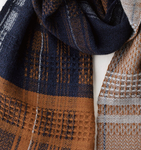 kobooriza かわり織りマフラー  KAWARI