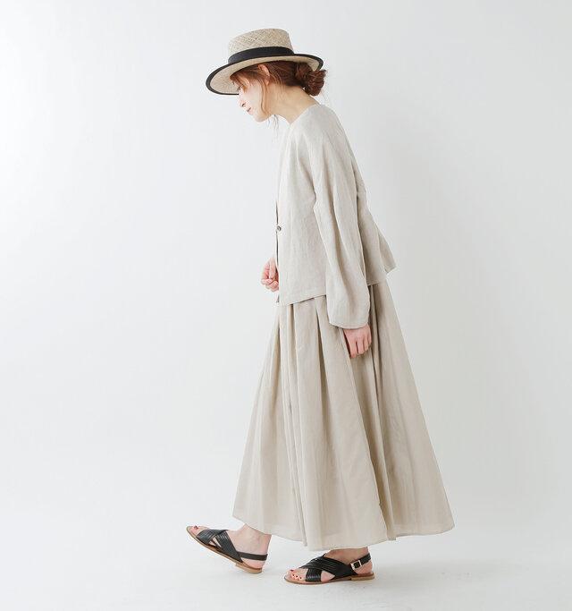 model tomo:158cm / 45kg color : beige / size : 38