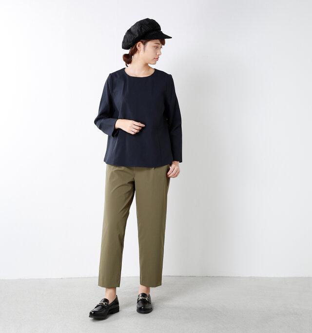 model kanae:167cm / 48kg color : balck / size : M