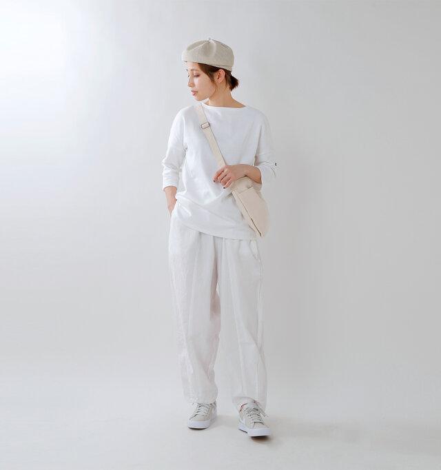model yama:167cm / 49kg color : white / size : 3