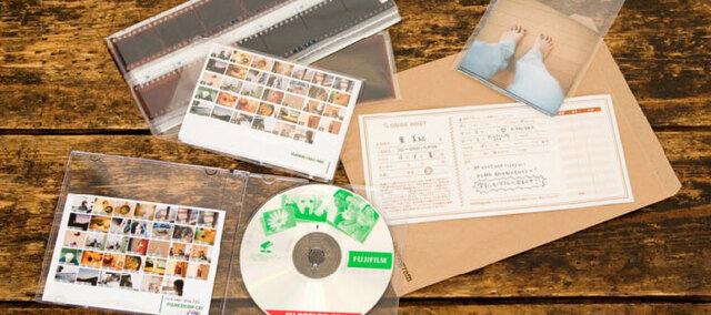 現像や同時プリントの他、CDへのデータ書き込みも承っております