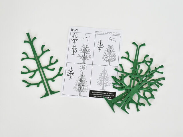 説明書が付いているので、それを見ながらどなたでも簡単に組み立てられますよ。 ※かなり薄い木でできているので、お子さまと一緒に作られる場合は、注意してくださいね!