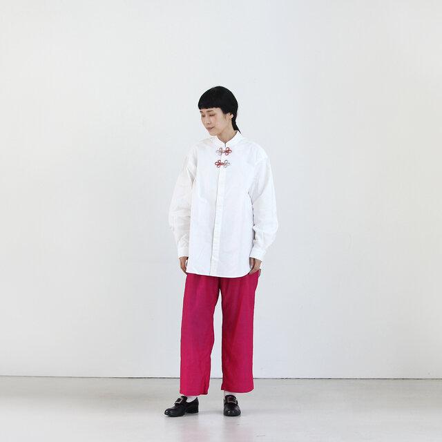 モデル身長165cm 着用カラー 06 ピンク