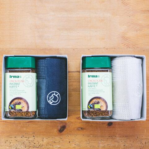 halutaの贈りもの|IrmaギフトセットA コーヒー&キッチンタオル