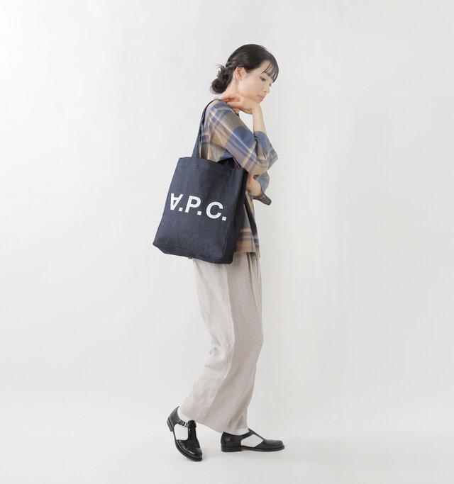 model mizuki:168cm / 50kg  color : indigo / size : one