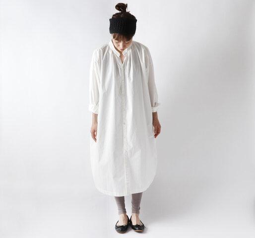 Cion コットンロングシャツドレス・19-05182